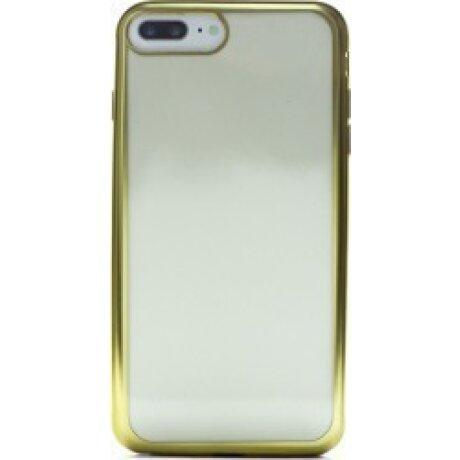Husa Silicon iPhone 7 Plus ( Rama Auriu )