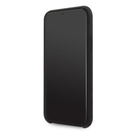 Husa silicon iPhone 11 Pro Max Tone on Tone Black Guess