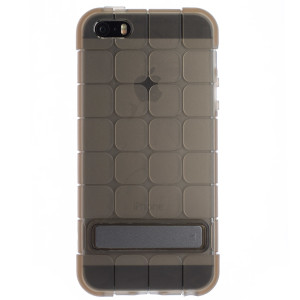 Husa Silicon iPhone 5/5s Fumuriu Cubee Rock