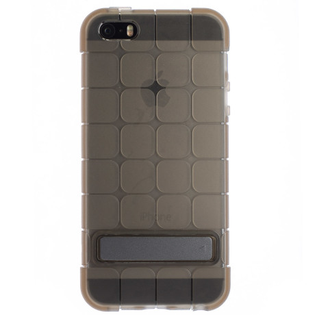 Husa Silicon iPhone 5/5s Fumuriu Cubee Rock