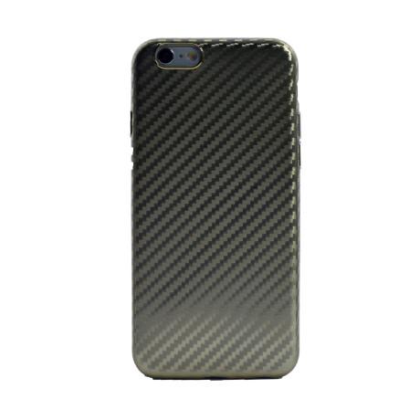 Husa Silicon iPhone 6 Auriu Mat