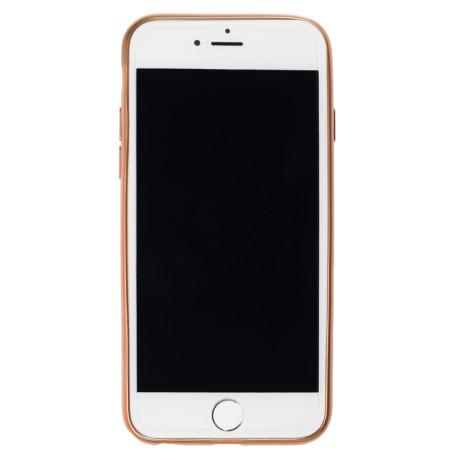 Husa silicon iPhone 6, Contakt Aurie
