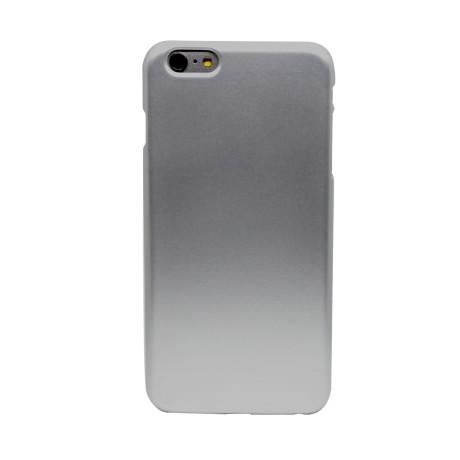 Husa silicon iPhone 6 Plus, Contakt Argintie