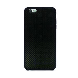 Husa silicon iPhone 6 Plus iShield Negru-Verde