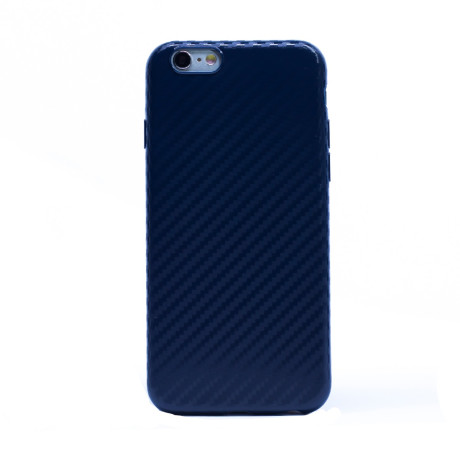 Husa Silicon iPhone 6/6S Albastru Mat
