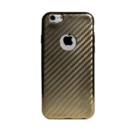 Husa Silicon iPhone 6/6S Auriu