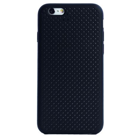 Husa silicon iPhone 6/6S iShield Negru-Gri