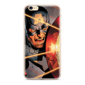Husa Silicon iPhone 6/7/8, Capitan America 007 Marvel