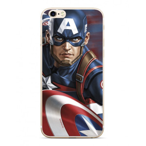 Husa Silicon iPhone 6/7/8, Capitan America 022 Marvel