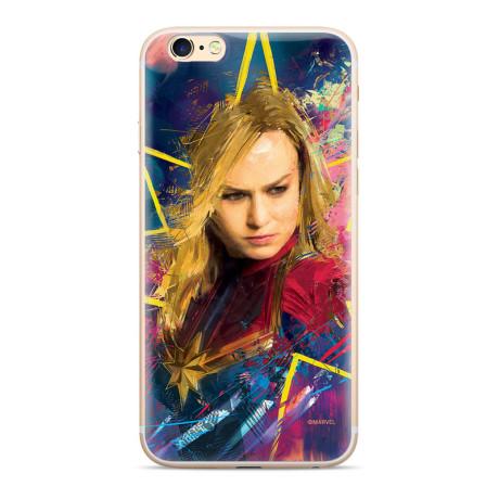 Husa Silicon iPhone 6/7/8, Capitan Marvel 008