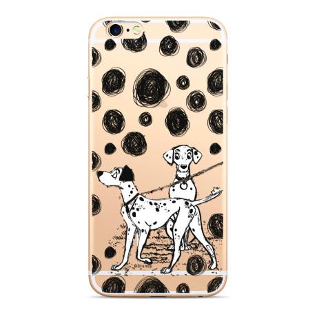 Husa Silicon iPhone 6/7/8 Disney Dalmatian 002
