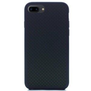 Husa silicon iPhone 7 Plus iShield Negru-Verde