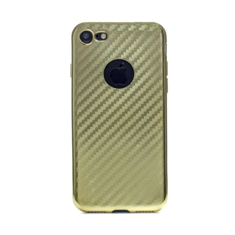Husa Silicon iPhone 7/8 Auriu