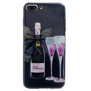 Husa Silicon iPhone 7/8 Plus,  Champagne