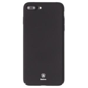Husa silicon iPhone 7/8 Plus Wing, Baseus, Neagra