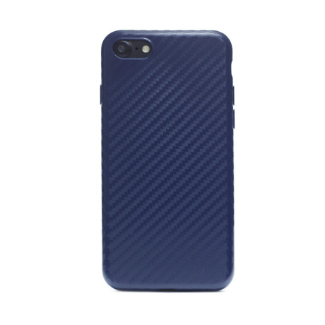 Husa Silicon iPhone 7/8/SE 2 Albastru Mat