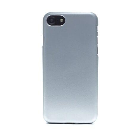 Husa silicon iPhone 7/8/SE 2, Contakt Argintie