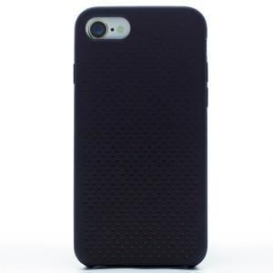 Husa silicon iPhone 7/8/SE 2 iShield Negru-Rosu