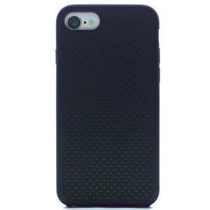 Husa silicon iPhone 7/8/SE 2 iShield Negru-Verde