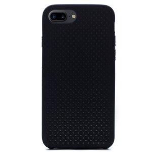 Husa silicon iPhone 8 Plus iShield Negru-Gri