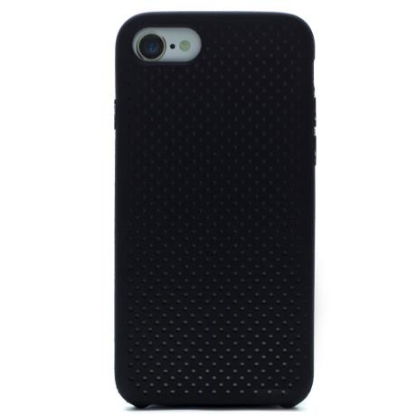 Husa silicon iPhone 8/SE 2 iShield Negru-Gri