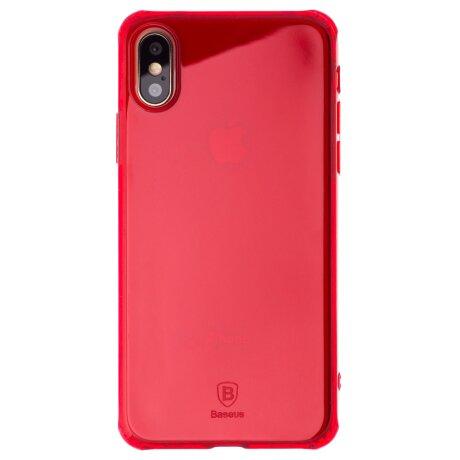 Husa silicon iPhone X, Baseus Rosie