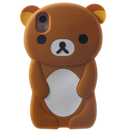 Husa silicon iPhone XR 6.1'' 3D Rilakkuma Maro