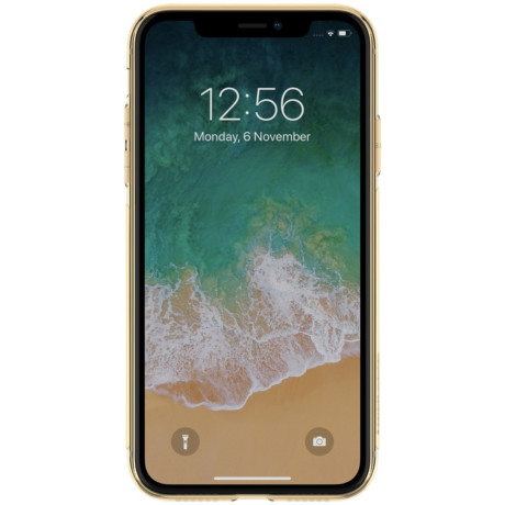 Husa silicon iPhone XR Nillkin Nature Aurie