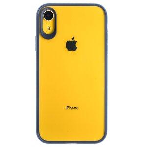 Husa silicon iPhone XR, Rama Albastra