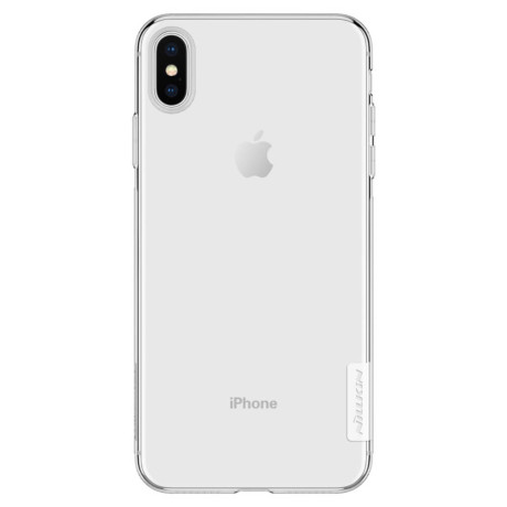Husa silicon iPhone XS Max 6.5'', Nillkin Nature, Transparenta