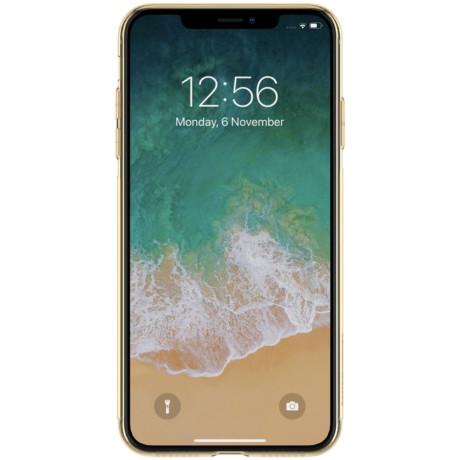 Husa silicon iPhone XS Max Nillkin Nature Auriu