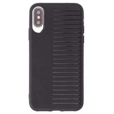 Husa silicon iPhone XS Max Proda Sengor Neagra