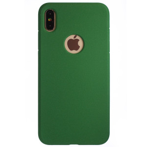 Husa Silicon iPhone XS MAX, Verde Sand