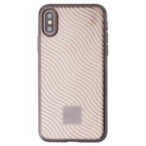 Husa Silicon iPhone XS, Proda Mouss Neagra