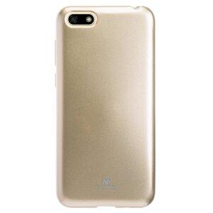 Husa Silicon Jelly Huawei Y5 Prime 2018 Auriu