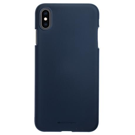 Husa Silicon Jelly Soft iPhone XS Max Albastru