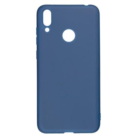 Husa Silicon Magnetic Huawei Y7 2019, Albastru