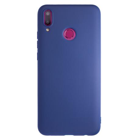 Husa Silicon Magnetica Huawei Y9 2019, Albastru