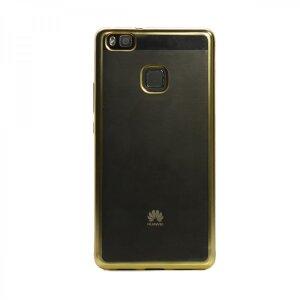 Husa Silicon Pentru Huawei Ascend P9 Lite ( Rama Auriu )