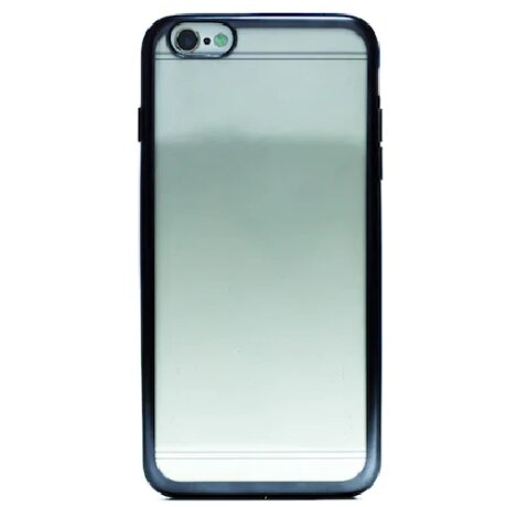 Husa Silicon pentru iPhone 6/6S Plus ( Rama Gri )