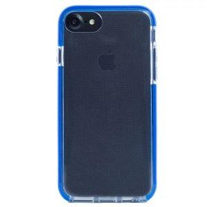 Husa Silicon pentru iPhone 6/6S/7 (Rama Albastru)