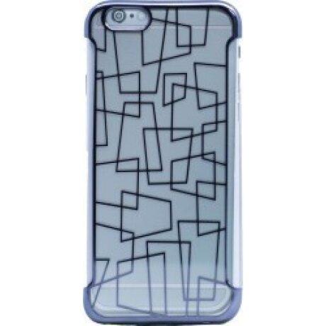 Husa Silicon pentru pentru iPhone 6/6S Rama Gri N
