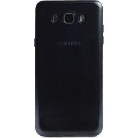 Husa Silicon Pentru Samsung Galaxy J7 2016 (Rama Negru)