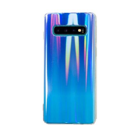 Husa Silicon Pentru Samsung Galaxy S10 Multicolor