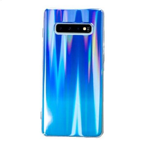 Husa Silicon Pentru Samsung Galaxy S10 Plus Multicolor