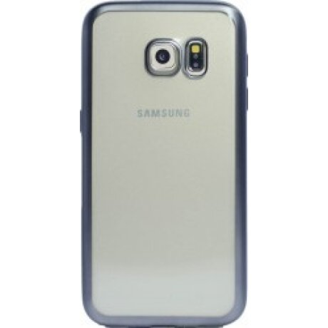 Husa Silicon Pentru Samsung Galaxy S7 (Rama Negru)