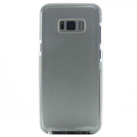 Husa Silicon Pentru Samsung Galaxy S8 Plus (Rama Alba)