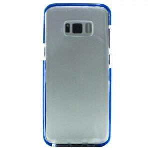 Husa Silicon Pentru Samsung Galaxy S8 Plus (Rama Albastru)