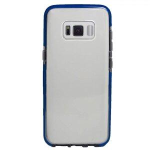 Husa Silicon Pentru Samsung Galaxy S8 (Rama Albastru)