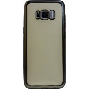 Husa Silicon Pentru Samsung Galaxy S8 (Rama Argintiu)